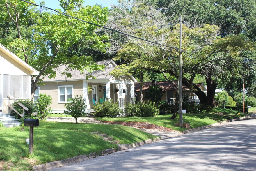 Branch St. bungalows.