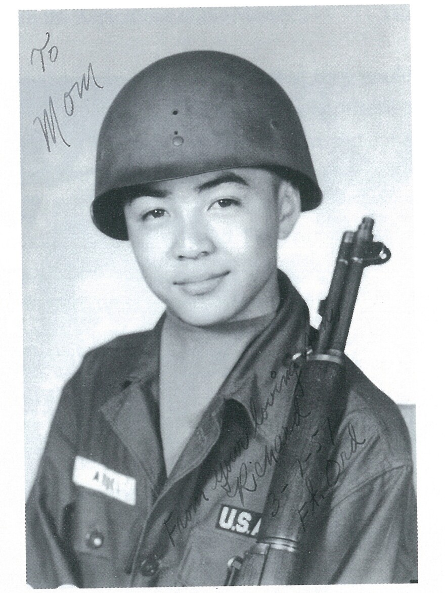 Aoki was an avid firearms collector and military enthusiast. After high school, he joined the Army and later was a reservist.