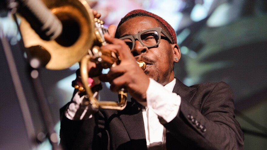 Roy Hargrove performs in Brooklyn in 2013.