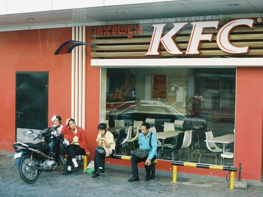 Countries like Cambodia still have yet to gain their own McDonald's franchise, but other American fast food chains, like KFC, have done well here.