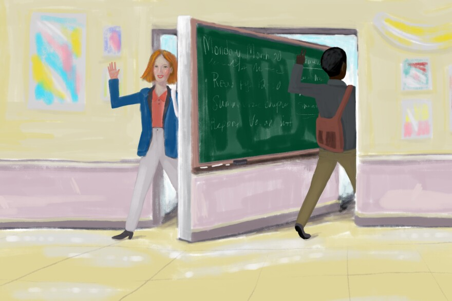 Nearly half of all beginning teachers will leave their classrooms within five years, only to be replaced by another fresh-faced educator.