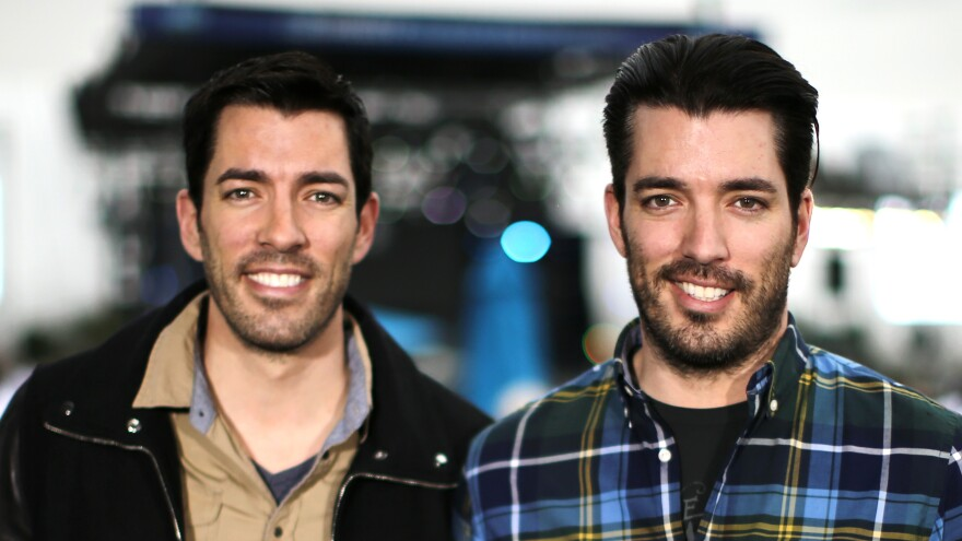 Drew Scott (left) and Jonathan Silver Scott are identical twins who grew up on a ranch outside Calgary. They host hit TV shows in Canada and on the HGTV network.