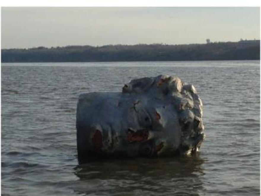 A floating head was discovered by the Marist College men's crew team this week in the Hudson River.