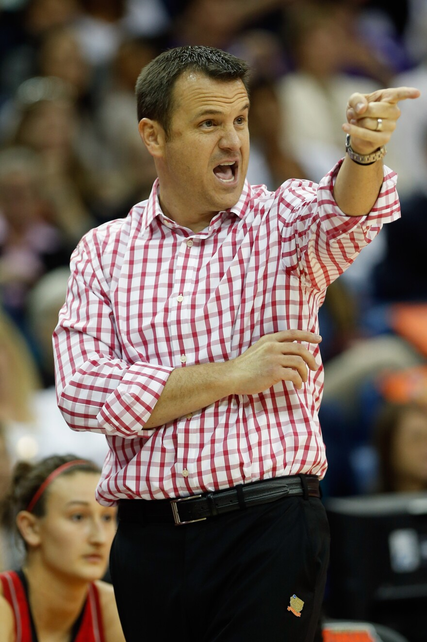 Walz's attire during Sunday's win over California caught the eye — and ire — of UConn coach Geno Auriemma.