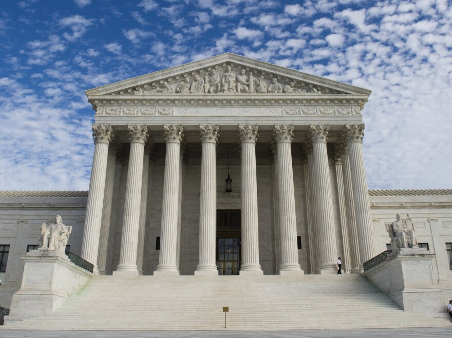An economic model is being challenged in the Supreme Court on Tuesday in a battle between broadcast television networks and the startup Aereo Inc. The issues focus on copyright law, but the outcome could alter broadcasting in the U.S.