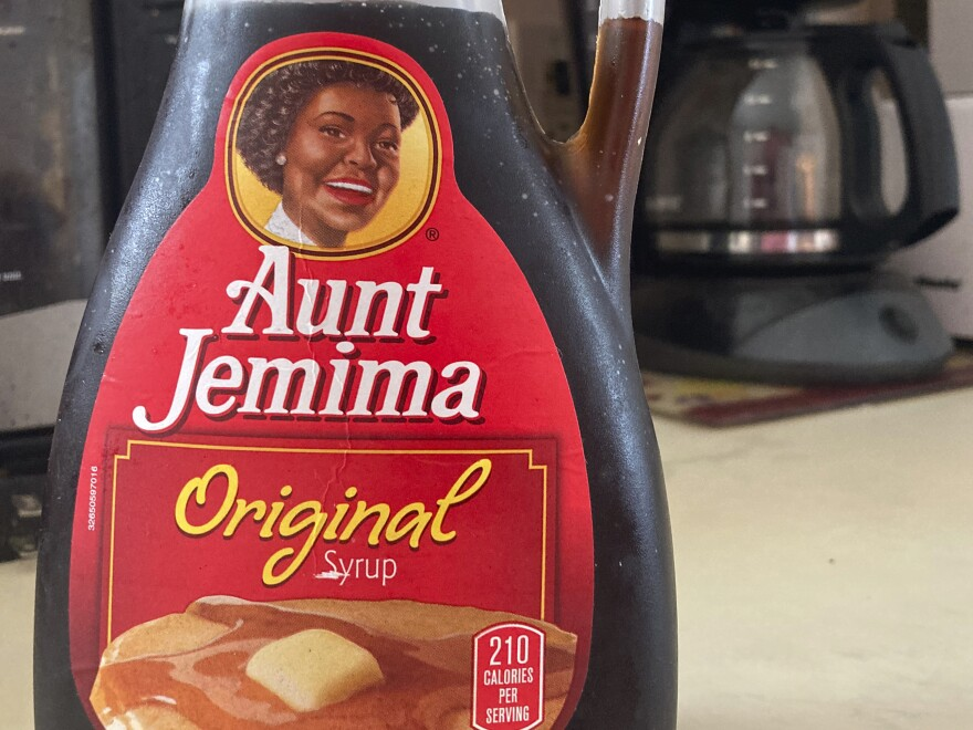 """We recognize Aunt Jemima's origins are based on a racial stereotype,"" parent company Quaker Foods says, announcing plans to change the brand's logo and name."