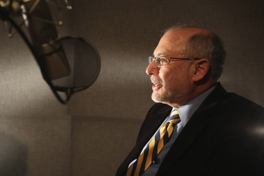 For 30 years, Robert Siegel hosted NPR's <em>All Things Considered</em>. He retires Friday after 40 years with the network.