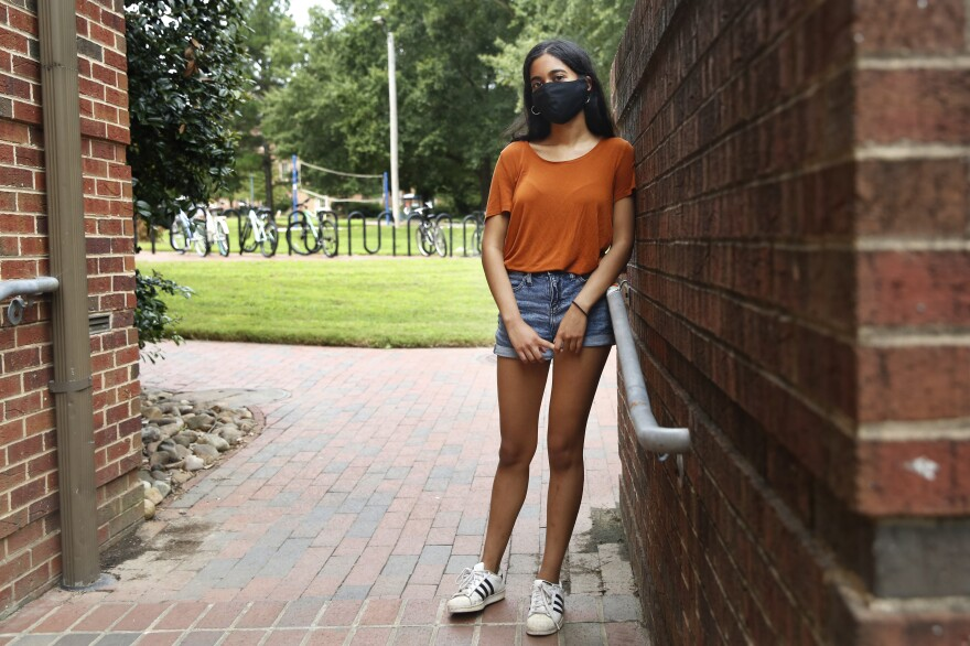 """There's no way I could have stopped this university from opening,"" says Maydha Devarajan, a UNC junior who worked for <em>The Daily Tar Heel</em> over the summer. ""But I hope I put enough information out there to show that there was a large amount of backlash to this plan before it even took off."""
