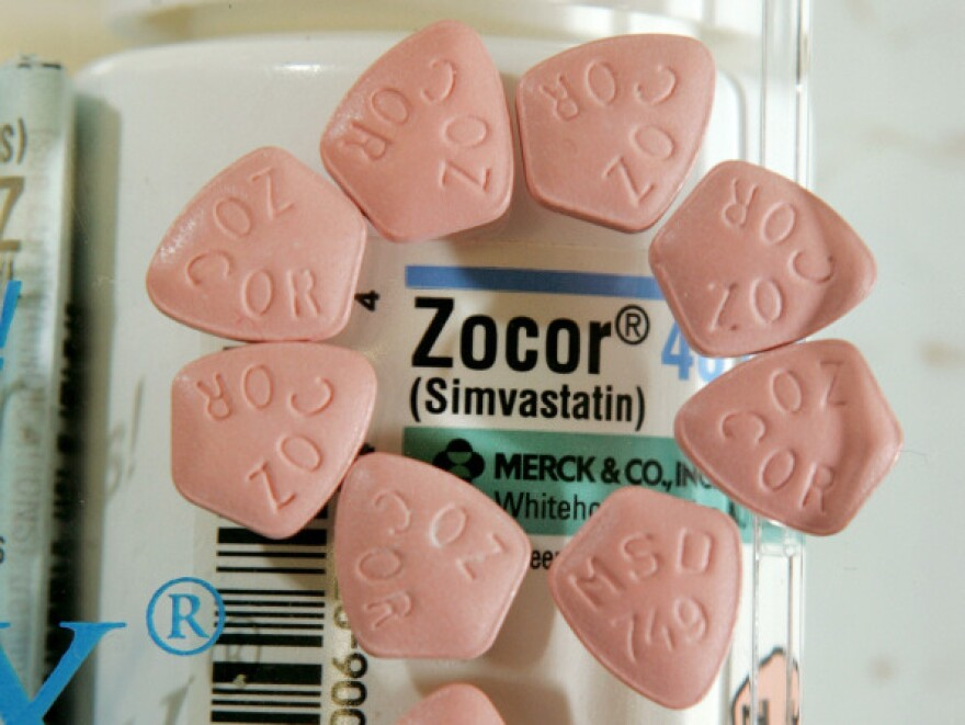 Cholesterol-fighting statins, including Merck's Zocor, appear to raise the risk of diabetes.