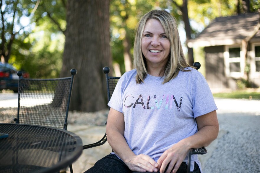 Co-founder Kathryn Lask said she and her boyfriend, co-founder Todd Mitchell, were inspired to take care of older dogs after adopting their own senior rescues.