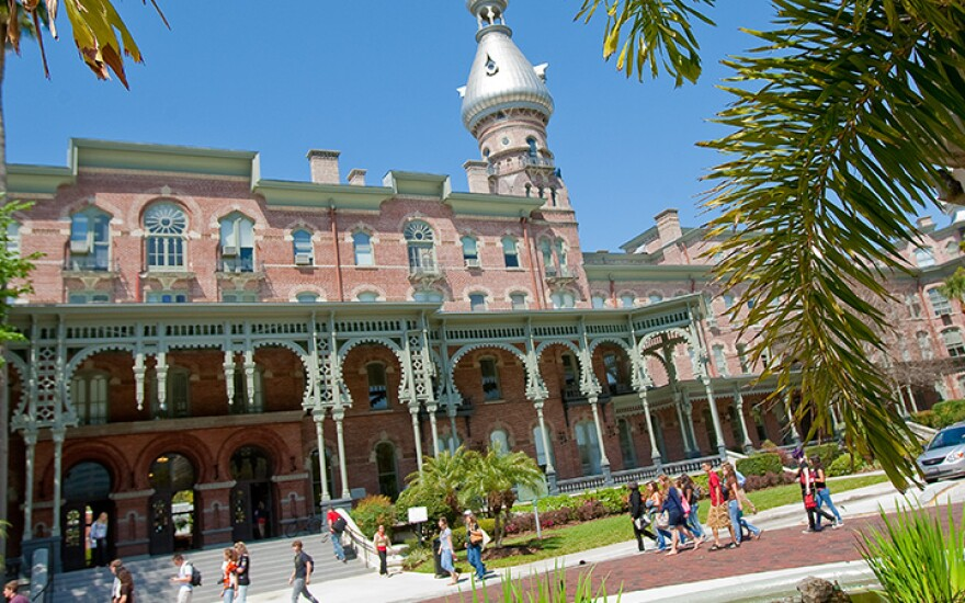 Plant Hall building at University of Tampa