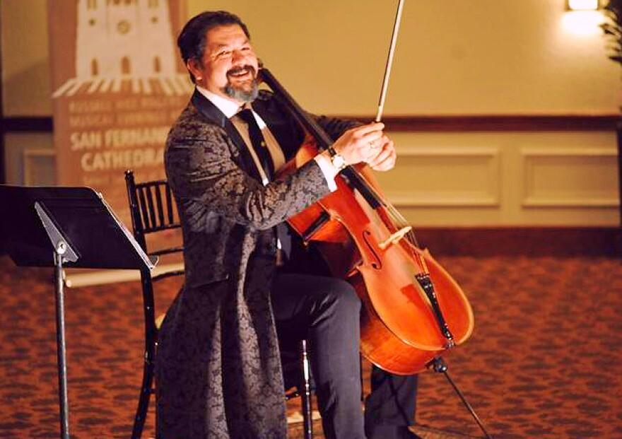 Karim Wasfi at Musical Bridges Around The World event. Jan. 17