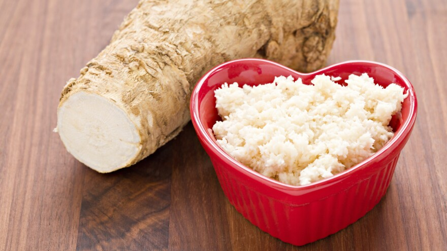 Lidia Bastianich's great-aunt swore by a horseradish tea for clearing out cold-clogged sinus.