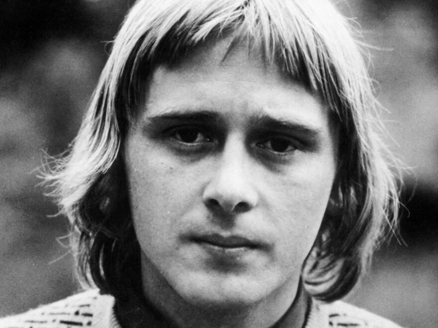An undated portrait of Danny Kirwan, a guitarist during Fleetwood Mac's earliest years. Kirwan died at age 68 on June 8.