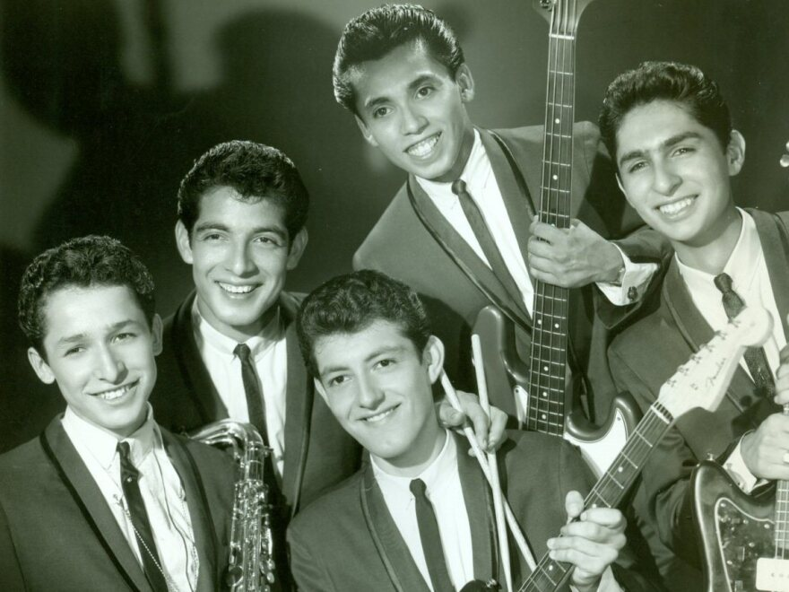 The Premiers in 1964. From left: Tony Duran, John Perez, Lawrence Perez, Frank Zuniga and George Delgado.