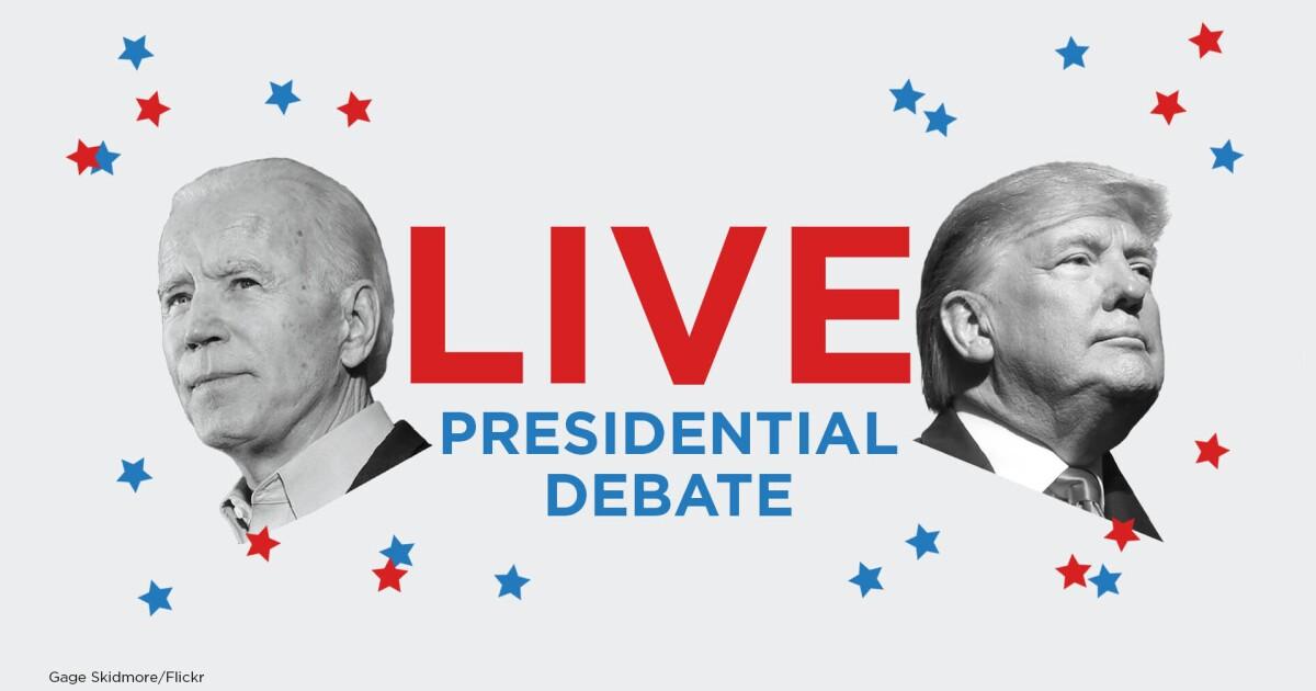 Live: Trump-Biden Final Presidential Debate