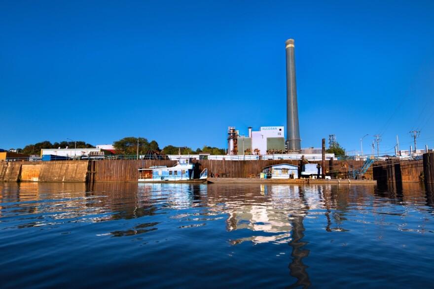 ALCOSAN wastewater treatment plant