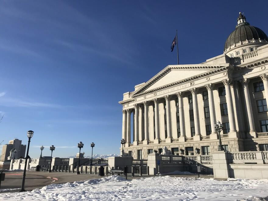 The Utah Capitol.