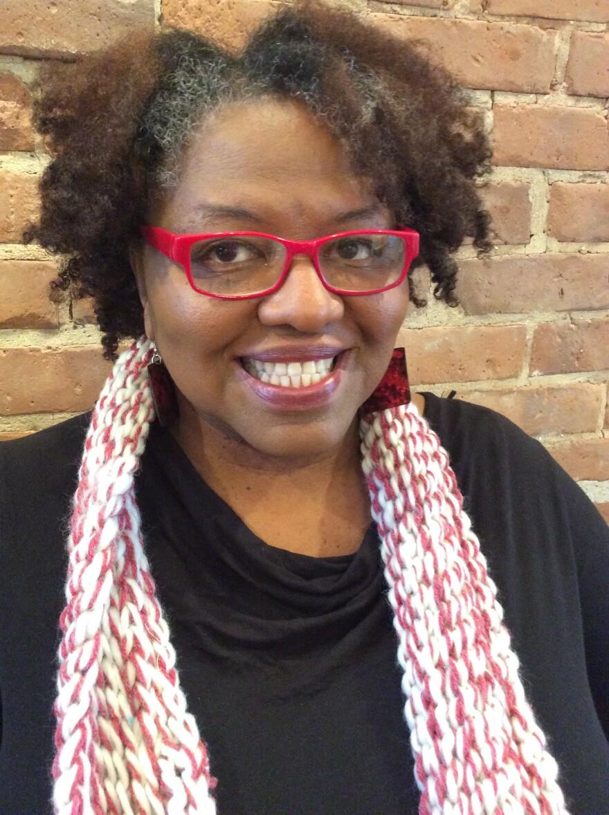 Author Crystal Wilkinson.