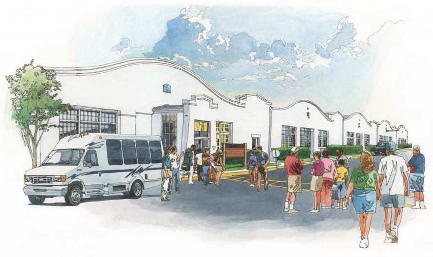 NAHA's vision for the Wright Company Factory.