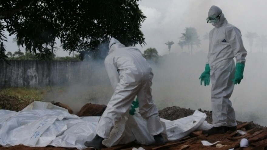 People who die of Ebola in Liberia are being cremated, not buried with traditional rituals.