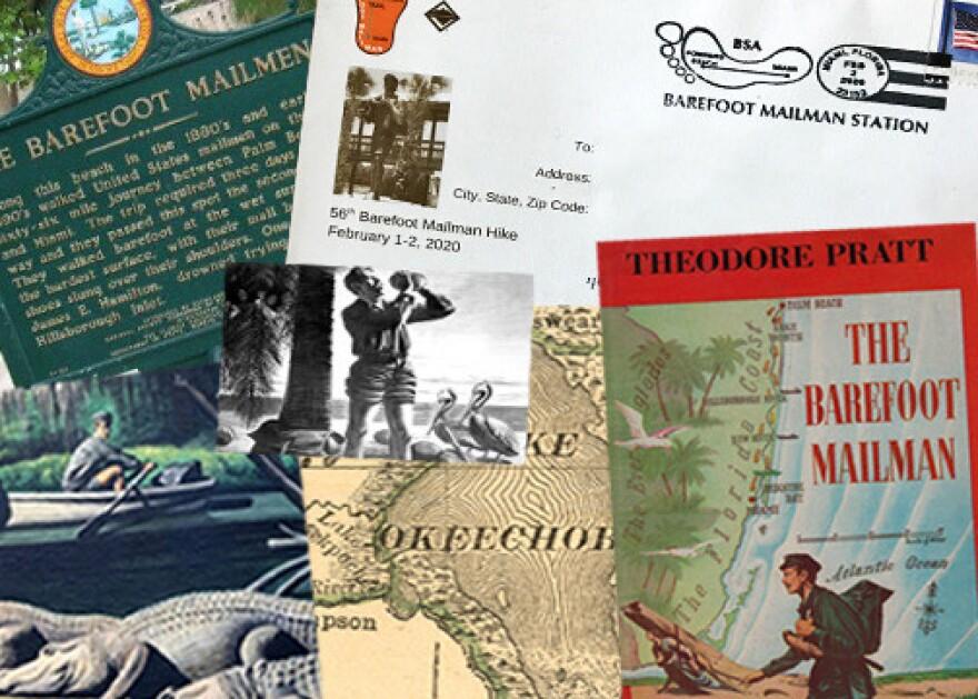 Barefoot Mailman collage