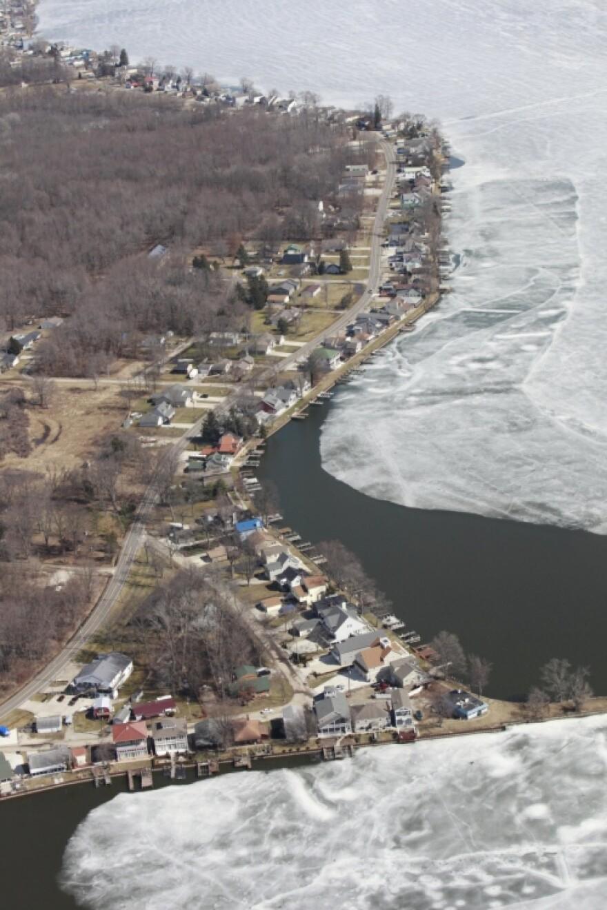 Buckeye Lake Dam