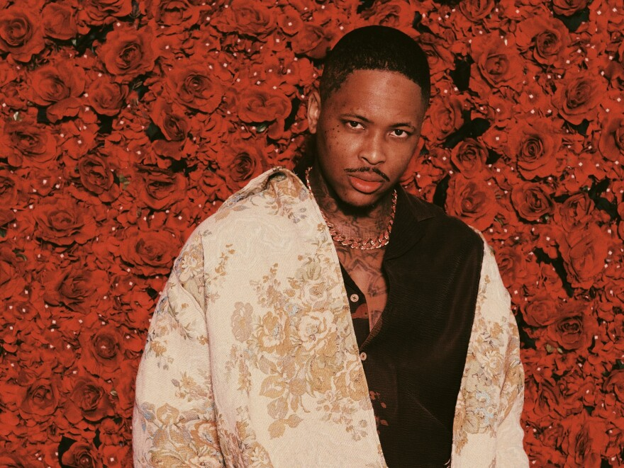 Compton rapper YG. His latest release, <em>4REAL 4REAL, </em>is on our short list for the best new albums dropping on May 24.