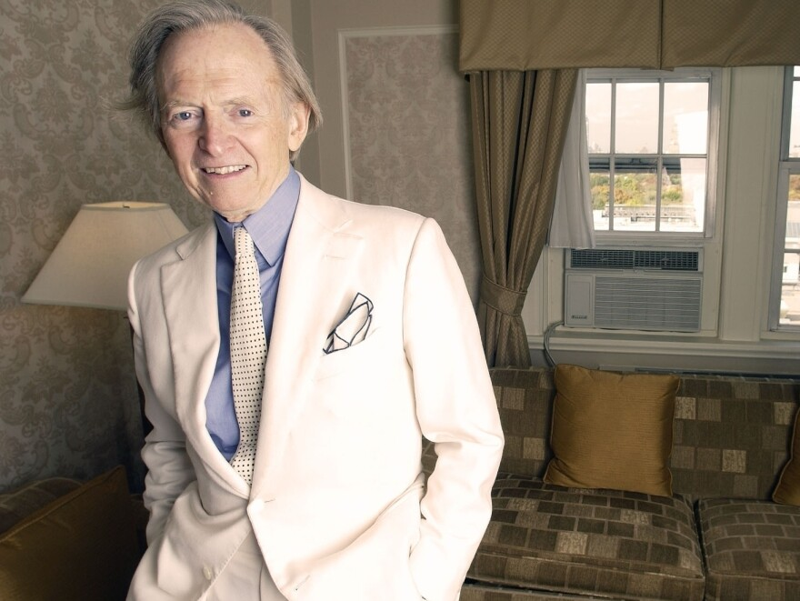 Author and journalist Tom Wolfe's books include <em>The Electric Kool-Aid Acid Test</em>, <em>The Bonfire of the Vanities</em> and <em>I Am Charlotte Simmons</em>, among others.