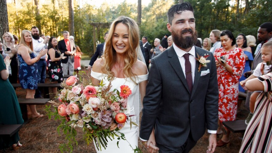 Event manager Brittney McColgan says the best thing couples can do when postponing their wedding is contacting vendors as soon as possible.