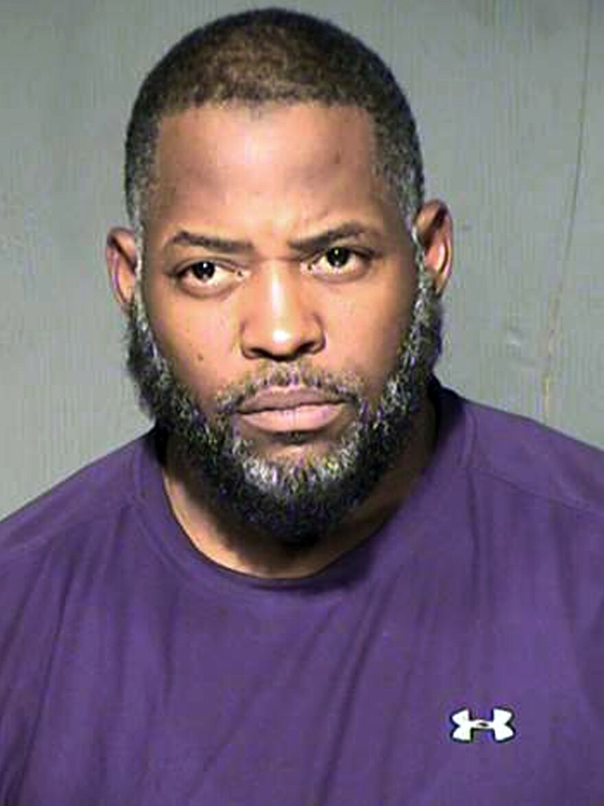 Abdul Malik Abdul Kareem, seen here in a booking photo provided by the Maricopa County, Ariz., Sheriff's Department, was found guilty of conspiring to support ISIS.