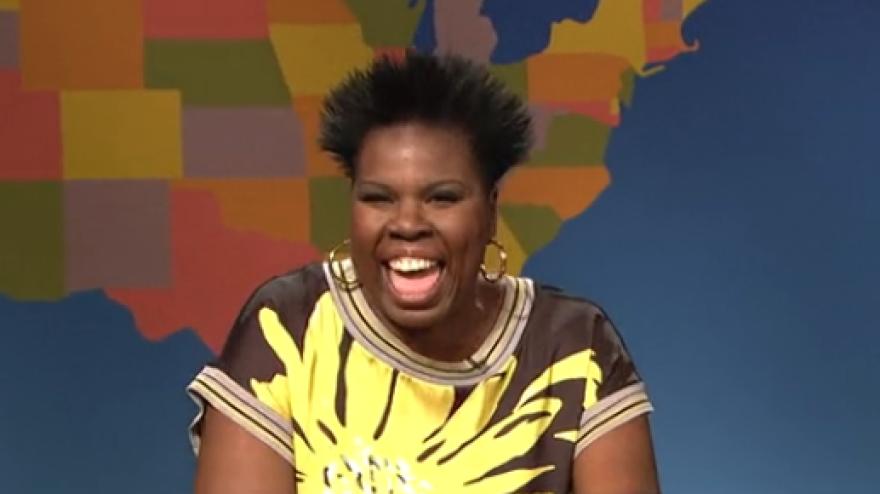 """Leslie Jones played an """"image expert"""" on last weekend's <em>SNL. </em>"""