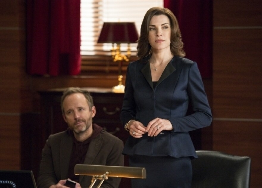 Julianna Margulies as Alicia Florrick in <em>The Good Wife</em>.