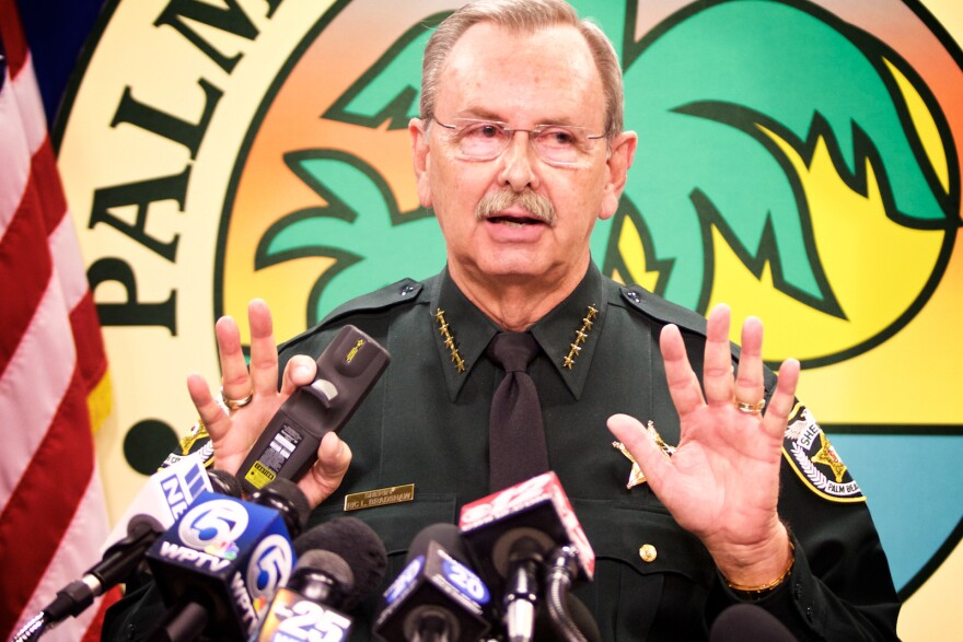 Palm Beach County Sheriff Ric Bradshaw says the security operation for President Trump and Chinese President Xi Jinping is the largest he's ever taken on.