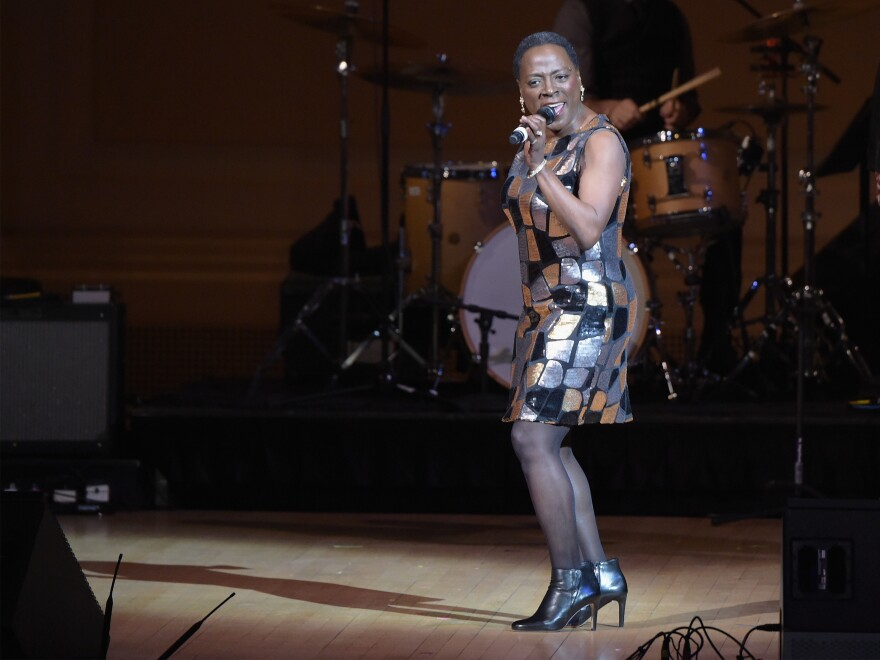 Sharon Jones, seen here performing at Carnegie Hall in February, died last week at the age of 60.
