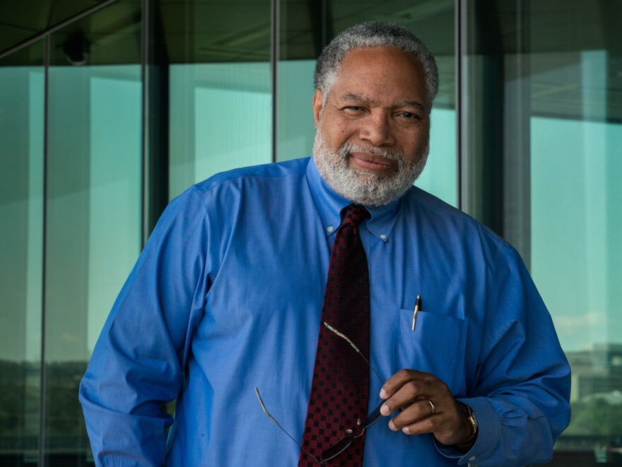 "Lonnie Bunch, the first historian to lead the Smithsonian, says he aims to engage the general public in ""wrestling with the shades of gray"" and to ""embrace ambiguity."""