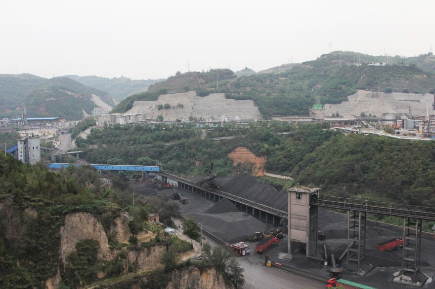 A manager at the city's Big Earth River Coal Company says demand for coal has fallen so much that one-third of the coal companies nationwide need to shut down.