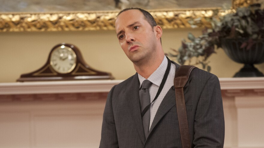 Tony Hale plays Gary Walsh, the personal assistant to Selina Meyer, on the HBO series, <em>Veep.</em>