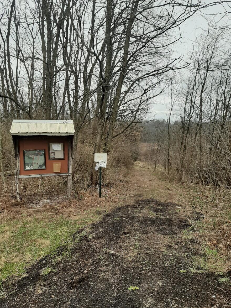 Grailville hiking trails