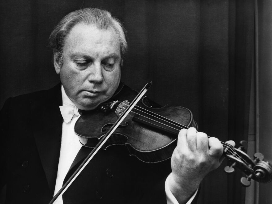 July 21 is the centennial of the birth of Isaac Stern. The violinist worked with his contemporaries, like Igor Stravinsky and Leonard Bernstein, and went on to mentor the next generation of musicians.