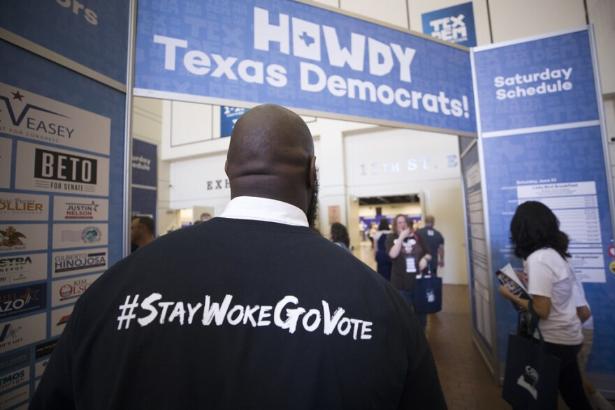 The 2018 Texas Democratic Convention in Fort Worth.