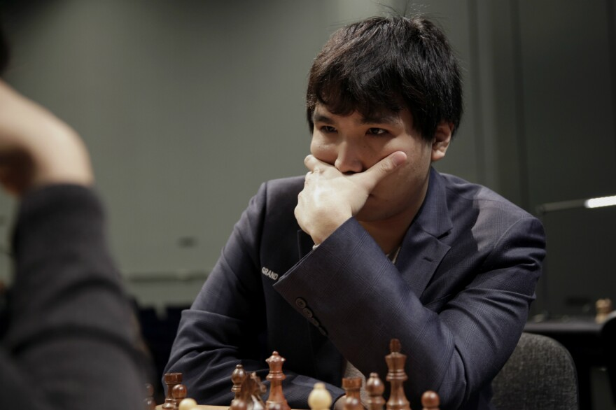 Wesley So is the current lead of the Tata Steel Chess Tournament, pictured here at last year's London Chess Classic.