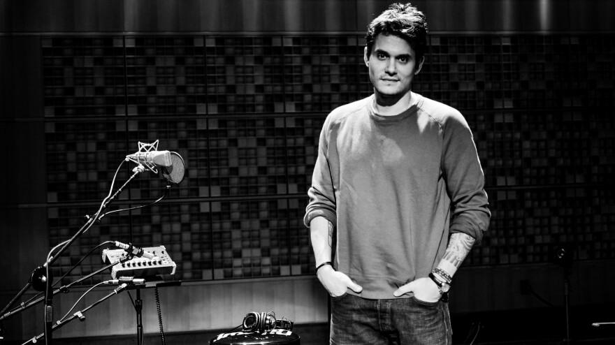 John Mayer in Studio 1 at NPR's Washington, D.C. headquarters.