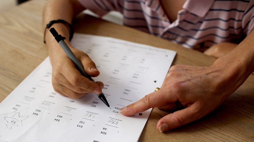 """Saying """"That's OK, you're still good at writing"""" may not be the best strategy, researchers say."""