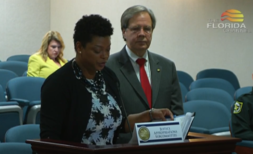 Democratic Rep. Tracie Davis, left, and Republican Rep. Scott Plakon are bipartisan backers of HB 199, which removes time limits for prosecuting sexual assault of a minor.