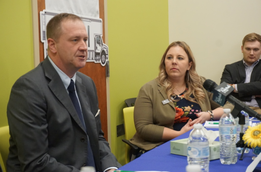 Attorney General Eric Schmitt spoke in Rolla with rural health care providers about opioid addiction 02-21-2020