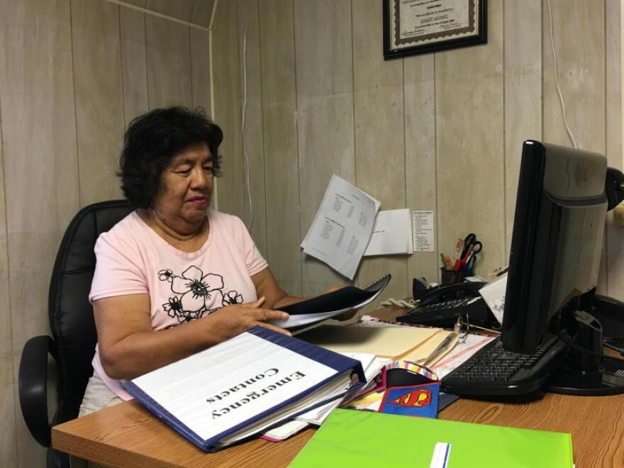 Angie Gomez is the Family Services Coordinator for Su Casa Head Start in Cobden, Illinois. She said many immigrants have to travel to larger cities to find a lawyer who speaks Spanish.