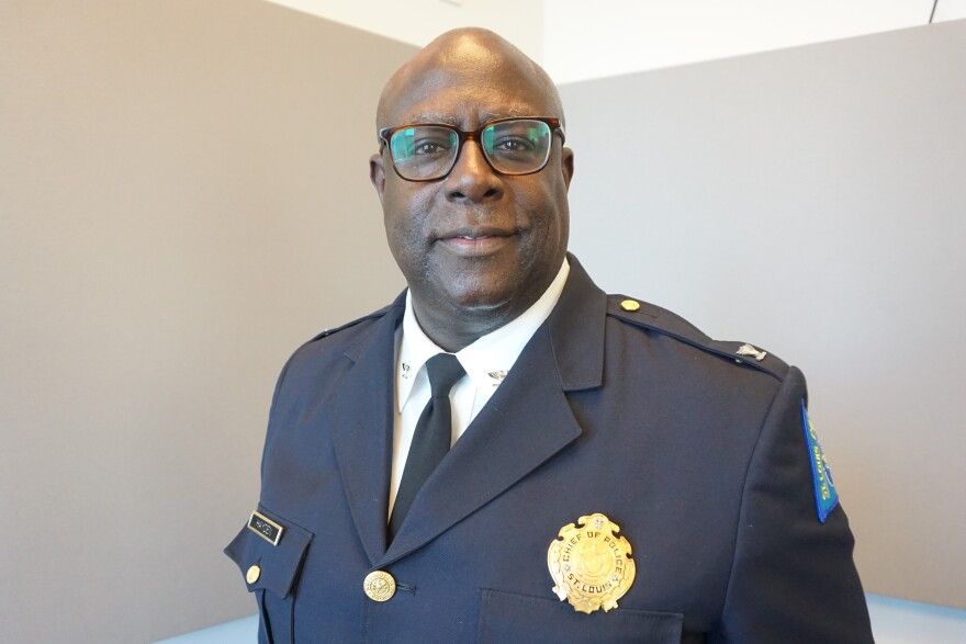 St. Louis Police Chief John Hayden says the strategy of directing more police attention and resources to specific areas is working to curb violence in the city.