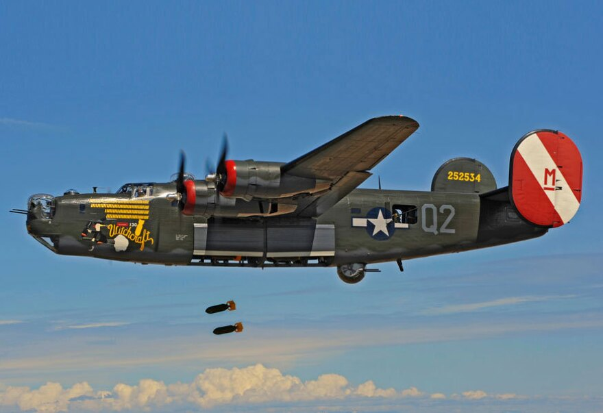 To make the scenes aboard the plane sound as authentic as possible, Becky Sullivan and her crew spent a day recording the sounds of Witchcraft, the only surviving unmodified B-24 bomber.