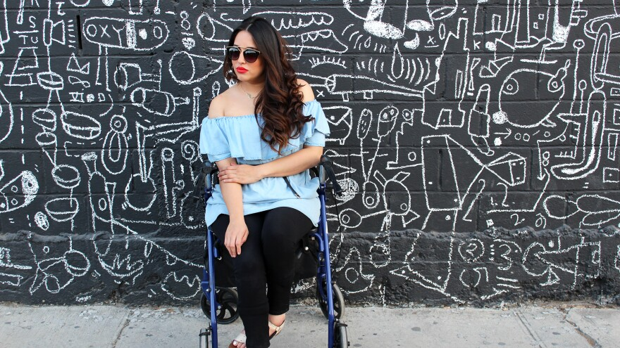 Maryangel Garcia Ramos, 32, is a disability activist from Mexico.